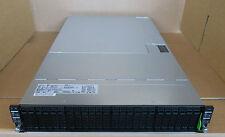 """Fujitsu CX400 M1 24 X 2.5"""" chasis no PSU no nodos S26361-K1530-V100"""