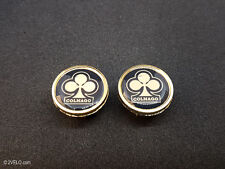 Vintage style CAMPAGNOLO oldy Arcore stripe Handlebar End Plugs