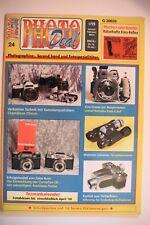 PHOTODEAL 24 Chinon Mikroma Kino-Reflex Contaflex Tengor Nikon Praktica Rollei