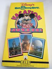 1993 Walt Disney World Vacation Planner VHS-TESTED-FAST SHIP-COLLECTIBLE VINTAGE