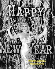 MAE WEST 8x10 Lab Photo SEXY 1939 HAPPY NEW YEAR Shimmering Glamour Portrait