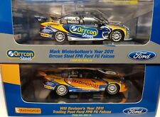 1:43 Winterbottom/ Davison Team FPR Ford FG Falcons 2011 #5 #6  2 cars.