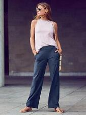 New ATHLETA Chelsea Wide Leg Pant NAVY Size 12 Large L