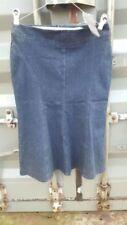 Full Length Denim Flippy, Full Skirts for Women