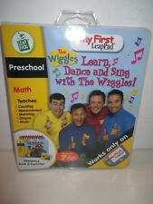 LeapFrog My First LeapPad Interactive Book & Cartridge- The Wiggles - Preschool