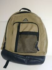 Adidas Backpack, School, Hiking, Sports, Tan/Black with Adjustable Padded Straps