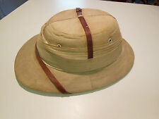 WWII SOLA PITH HELMET BOMBAY BOWLER SHOLA TOPEE  VINTAGE 1939  ORIGINAL