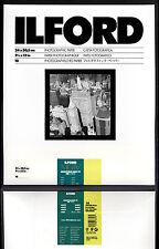 Carta fotografica bianco e nero Ilford 24x30 Multigrade FB baritata matt 10fogli