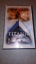 Cassette vidéo vhs, titanic