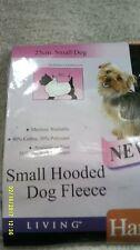 small hooded dog fleece