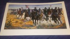 """Buffalo Soldier Art Print """"Bronze Patriots"""" (S/N LImited Edition)"""