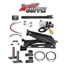 12 Ton 24000 Lb Dump Trailer Hydraulic Scissor Hoist Kit Ph625 Power Hoist