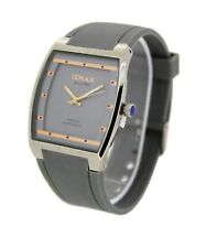 Omax Original Slim Japan Movt Square Watch D006M22B Brand New With Tags