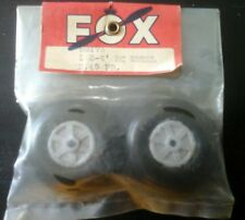 """Vintage Fox Mfg WHEELS TIRE FOR RC AIRPLANE NIP excellent No reserve 1,3/4"""""""