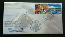 United Nation International Year Of Freshwater 2003 Mountain River (stamp FDC)