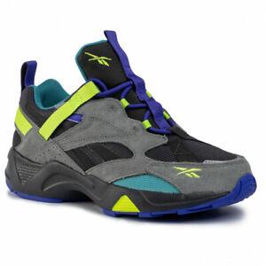 Reebok Men's AZTREK 96 ADVENTURE Shoes True Grey 5/True Grey 8/Purple EG8891 d