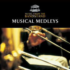 MUSIC FROM THE BANDSTAND - MUSICAL MEDLEYS V2 - BRASS/MUSICALS CD - FREE POST UK