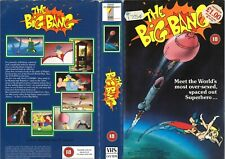 RENTAL VIDEO SLEEVE - THE BIG BANG - ENTERTAINMENT IN VIDEO LABEL