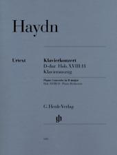 Henle Haydn: Piano Concert in D major Hob.XVIII:11 Piano Reduction