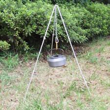 Alloy Camp Fire Camping Cooking Tripod Dutch Oven Bush Craft BBQ Picnic