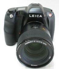 LEICA S 37.5MP Medium format camera (Typ 007) w/LEICA 70mm f2.5 SUMMARIT-S lens