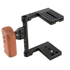 CAMVATE DSLR Kamera Käfig Cage Rig mit Griff für Canon Nikon Sony 80D 70D