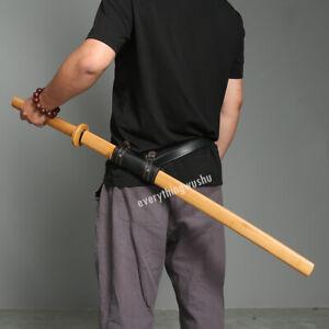 Practice of Iaido Bokken High Quality Bamboo Katana with Saya and Belt