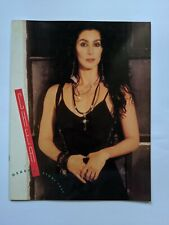 Cher Heart of Stone Tour 1990 Tour Book / Program
