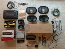 LOT Car Stereo Equipment & Electronics, Speakers, Amp, Receiver, Backup Camera