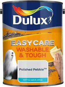 Dulux Easycare Washable & Tough 5L Matt Emulsion Paint - Polished Pebble