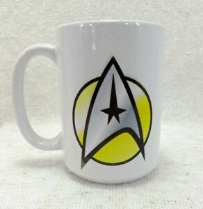 Star Trek Federation of Planets Insignia Custom Made Coffee Mug
