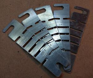 Lot of 5 Littelfuse LKN-100 Fuse Links