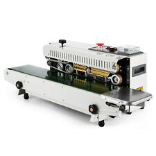 Vevor Automatic Sealing Machine Stainless Steel Continuous Bag Band Sealer Ce