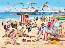 ! nuevo! Ravensburger un día en la playa nostálgico Rompecabezas De 500 piezas 14753