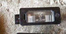BMW e60 e70  REAR TRUNK LICENSE PLATE LIGHT/ LAMP
