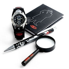 MR.SPY BOYS SPY WATCH SET INVESTIGATOR SECRET AGENT STOCKING FILLER PRESENT GIFT