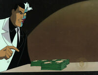 Batman Animated Series Original Production Cel Two Face-Two Face Pt 2