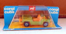 CORGI CUBS R501 AUTOMODELLINO JEEP 1:43 DIE-CAST E PLASTICA CON BOX