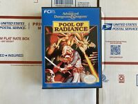 Pool Of Radiance Nintendo with manual and Custom Box Advanced Dungeon & Dragons