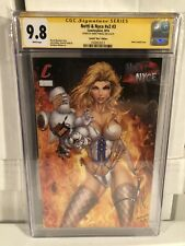 NOTTI & NYCE V2 #3 CGC SS 9.8 SIGNED JAMIE TYNDALL NICE CONVENTION EDITION