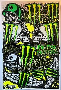 11 Metal Mulisha Stickers Decals Dirt Bike MTB Folks Helmet BMX Quad Skateboard
