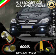 COPPIA LAMPADE FENDINEBBIA H11 LED CREE COB CANBUS MERCEDES CLASSE B 6000K