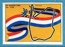 MOTO - Ed. Raf - Figurina/Sticker n. 221 - GP NEDERLAND -Rec