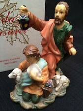 RARE!! 2002 AVON HOLIDAY TREASURES BLESSED VISITORS SHEPHERDS- NEW IN BOX!!