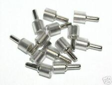 Nickel Plated Steel 3mm Shelf Studs for Glass * 100