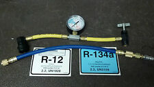 134a, R12,  Can Taper, With COLOR CODED GAUGE, NICE!