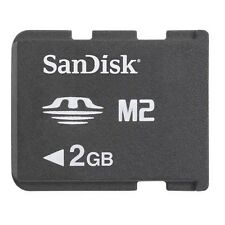 Sandisk 2GB Memory Stick Pro Duo Micro M2 MS 2 G GB 2G