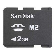 Sandisk 2GB Memory Stick Pro Duo Micro M2 MS 2 G GB 2G