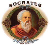 Temet Nosce Know Thyself Socrates Quote Sign Plaque U Pick Color Wood The Matrix