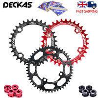 UK DECKAS BCD104mm 32T-52T MTB Bike Chainring Round Oval Narrow Wide Chain Ring